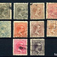 Sellos: FILIPINAS Nº 105/16. AÑO 1894. Lote 262620325