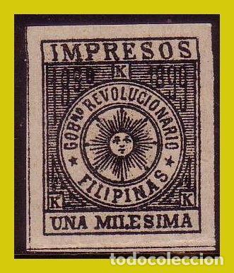 FILIPINAS, CORREO INSURRECTO 1898, EDIFIL Nº 1S * * (Sellos - España - Dependencias Postales - Filipinas)