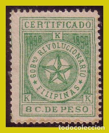 FILIPINAS, CORREO INSURRECTO 1898, EDIFIL Nº 3 * * (Sellos - España - Dependencias Postales - Filipinas)