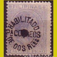 Sellos: FILIPINAS, 1881, EDIFIL Nº 66T (O). Lote 288353038