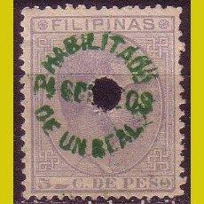 Sellos: FILIPINAS, 1881, EDIFIL Nº 66P (O). Lote 288353063