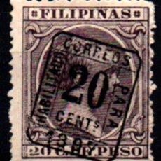 Sellos: FILIPINAS Nº 130H. AÑO 1898. Lote 290090823