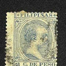 Sellos: FILIPINAS, 1896-1897, ALFONSO XIII, EDIFIL 123, USADO. Lote 292592878
