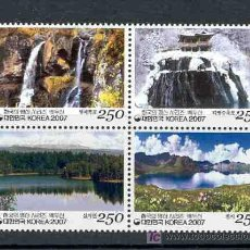 Sellos: COREA DEL SUR 2007.- ESCENAS DE MONTAÑA DE KOREA. Lote 6908571