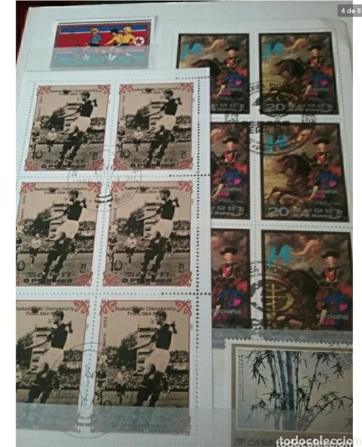 Sellos: Clasificador (170 x 220 cm) Sellos + HB Korea del Norte (Corea.DPRK) mtdos. VER FOTOS 8. - Foto 4 - 119151004