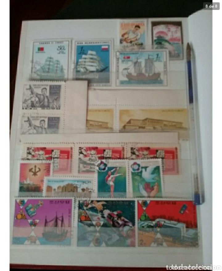 Sellos: Clasificador (170 x 220 cm) Sellos + HB Korea del Norte (Corea.DPRK) mtdos. VER FOTOS 8. - Foto 8 - 119151004