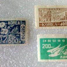 Sellos: SELLOS KOREA - PRIMERA REPUBLICA - SERIE COMPLETA.. Lote 197864726