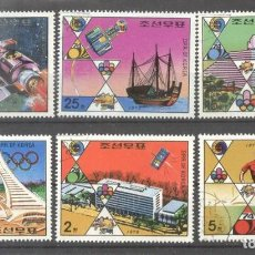 Sellos: KOREA N 1976 EVENTS SHIPS SPACE OLYMPICS USED DE.067. Lote 198273408