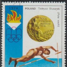 Sellos: COREA NORTE 1976 SCOTT 1493 SELLO * DEPORTES SPORT JJOO MONTREAL MEDALLAS TADEUSZ SLUSARSKI, POLAND. Lote 222017155