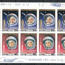 Sellos: DP2854SISH KOREA 1988 MNH SPACE - NO PERFORATION. Lote 235486175
