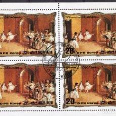 Sellos: COREA NORTE , ,MINI-SHEET, ,1984, MICHEL 2469KB FDC. Lote 235680235
