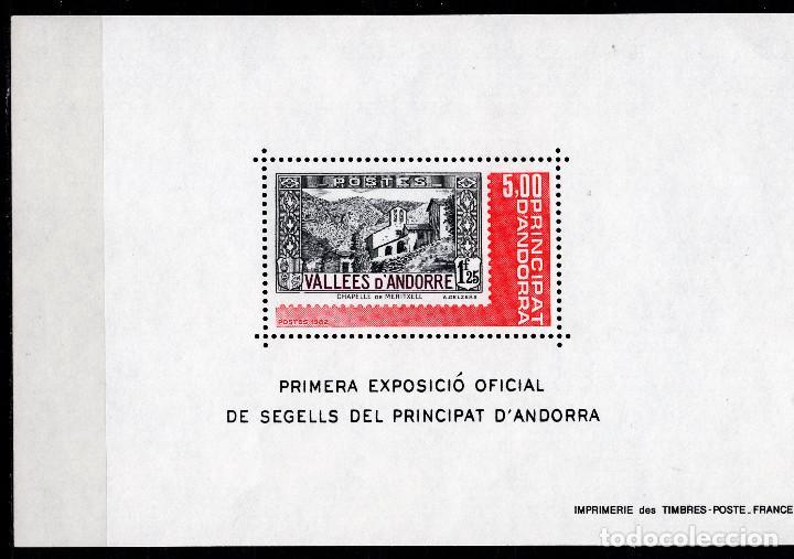ANDORRA FRANCESA , ,SOUVENIR-SHEET, ,1982, MICHEL BL1 (Sellos - Extranjero - Asia - Corea)