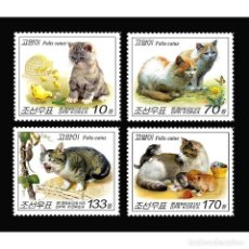 Sellos: 🚩 KOREA 2010 CATS MNH - CATS. Lote 243290050
