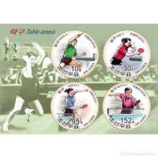 Sellos: 🚩 KOREA 2010 TABLE TENNIS MNH - SPORT, TENNIS. Lote 243290120
