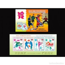 Sellos: 🚩 KOREA 2012 GAMES OF THE XXX OLYMPIAD IN LONDON 2012 MNH - SPORT. Lote 243290780