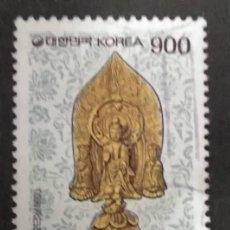 Selos: COREA DEL SUR 1993. BUDDHA TRIAD. YT:KR 1605,. Lote 244528460