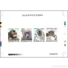 Sellos: 🚩 KOREA 2004 MONKEY MNH - MONKEYS. Lote 244889475