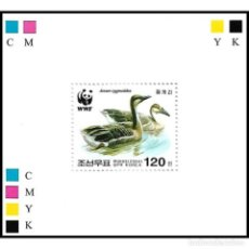 Sellos: 🚩 KOREA 2004 ГУСИ MNH - DUCKS, IMPERFORATES. Lote 244889635