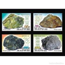 Sellos: DPR4558-61 KOREA 2008 MNH MINERALS. Lote 287523518