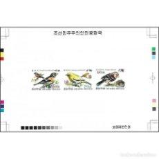 Sellos: DPR4817ASA KOREA 2012 MNH BIRDS. Lote 287528238