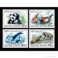 Sellos: ⚡ DISCOUNT KOREA 2010 ANIMALS MNH - BIRDS, THE BEARS, DOLPHINS. Lote 289961228