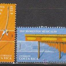 Sellos: COSTA RICA, INSTRUMENTOS MUSICALES DE GUANCASTE, NUEVO ***. Lote 36734163