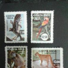 Sellos: SELLOS DE COSTA RICA. FAUNA. YVERT A-603/5. SERIE COMPLETA NUEVA SIN CHARNELA.. Lote 53457100