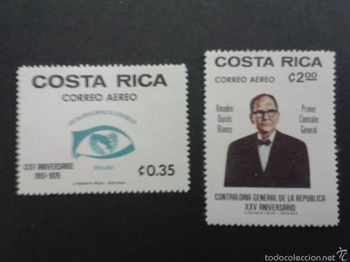 SELLOS DE COSTA RICA. YVERT A-666/7. SERIE COMPLETA NUEVA SIN CHARNELA. (Sellos - Extranjero - América - Costa Rica)