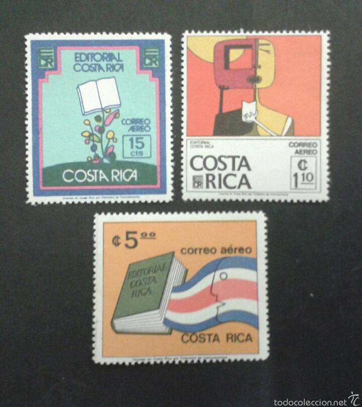 SELLOS DE COSTA RICA. YVERT A-649/51. SERIE COMPLETA NUEVA SIN CHARNELA. (Sellos - Extranjero - América - Costa Rica)