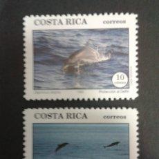 Sellos: SELLOS DE COSTA RICA. FAUNA. YVERT 564/5. SERIE COMPLETA NUEVA SIN CHARNELA.. Lote 53457160