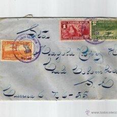 Sellos: COSTA RICA CORREO AEREO 1938 COSTA RICA- COLOMBIA 13 DE DICIEMBRE DE 1938. . Lote 54604557