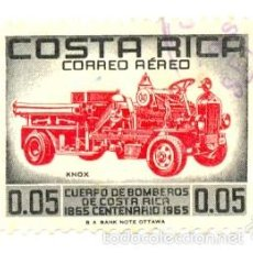 Sellos: 2-COSRI413AE. SELLO USADO COSTA RICA. YVERT Nº 413 AÉREO. CUERPO DE BOMBEROS. Lote 253468855