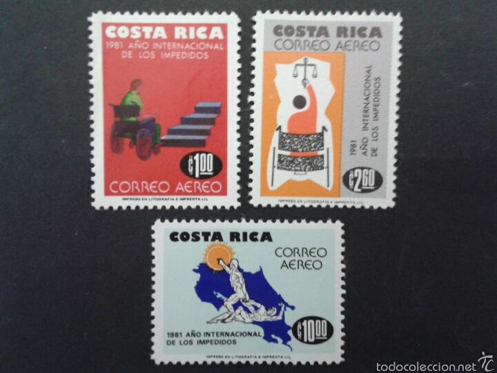SELLOS DE COSTA RICA. YVERT A-835/7. SERIE COMPLETA NUEVA SIN CHARNELA. (Sellos - Extranjero - América - Costa Rica)