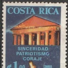 Sellos: COSTA RICA JFK .AEREO. 1 $ .*.MH (21-280). Lote 60843439