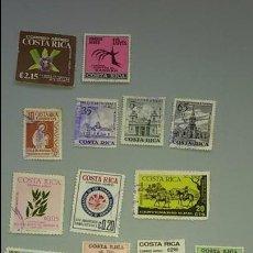 Sellos: LOTE SELLOS DE COSTA RICA.AÑOS 70. CIRCULADOS. Lote 62193412