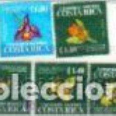 Sellos: ORQUÍDEAS, FLORES DE COSTA RICA, SELLOS AÑO 1975. Lote 81565064