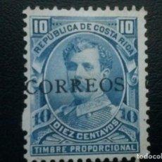 Sellos: COSTA RICA , YVERT Nº 30A NUEVO SIN GOMA. Lote 85629280