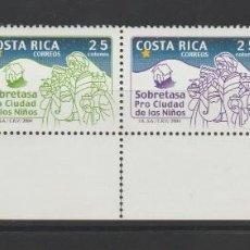 Sellos: COSTA RICA SET COMPLETO DE SELLOS PRO CIUDAD DE LOS NIÑOS 2004 MNH NUEVOS . Lote 95644315