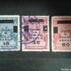 Sellos: COSTA RICA. YVERT A-423/5. SERIE COMPLETA USADA. SOBRECARGADOS.. Lote 106108143