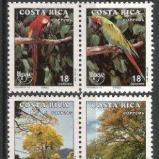 Sellos: COSTA RICA 1990 - MI 1381/4 - AMÉRICA UPAE - MNH**. Lote 119459551