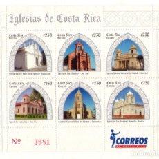 Sellos: COSTA RICA HB IGLESIAS, 2008. Lote 132206402