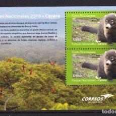 Sellos: COSTA RICA 2018 PARQUE NATURAL DE CARARA. Lote 134030034