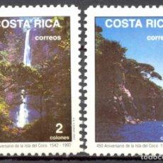 Sellos: COSTA RICA - 1991 - YT 557/558 - 450 ANS DE L'ILE COCO - **. Lote 135554210