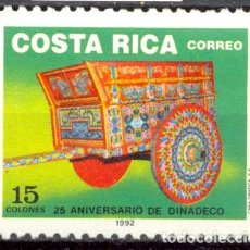 Sellos: COSTA RICA - 1992 - YT 551 - 25 ANS DINADECO - * TC. Lote 135555298