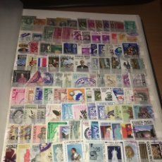 Sellos: LOTE DE 125 SELLOS USADOS DE COSTA RICA ÁLBUM 3. Lote 140587998