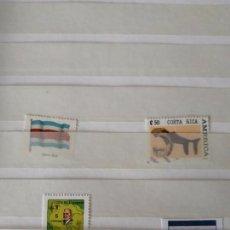 Sellos: NAM13 - COSTA RICA 2 SELLOS. Lote 141823994