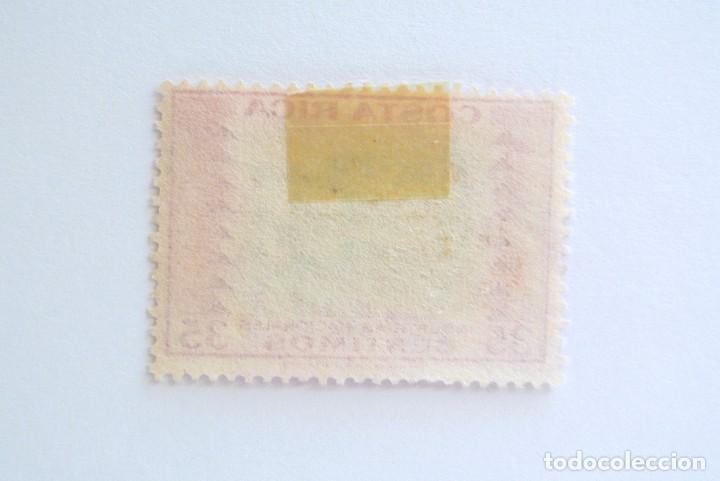 Sellos: Sello postal COSTA RICA 1954, 1 c ,TEXTILES , INDUSTRIAS NACIONALES, Usado - Foto 2 - 154681370