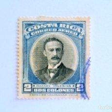 Sellos: SELLO POSTAL COSTA RICA 1947 ,2 COLONES, RAFAEL IGLESIAS CASTRO, USADO. Lote 154864634