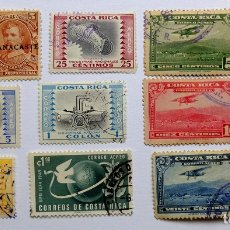 Sellos: SELLOS DE COSTA RICA. Lote 164958666