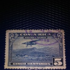 Sellos: 5 CENTIMOS,COSTA RICA,CORREO AEREO,AMERICAN BANK NOTE COMPANY. Lote 174521963